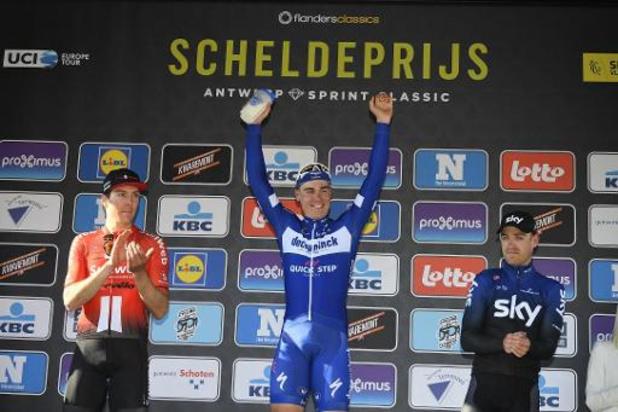 Le départ du Grand Prix de l'Escaut ne se fera pas à Terneuzen aux Pays-Bas