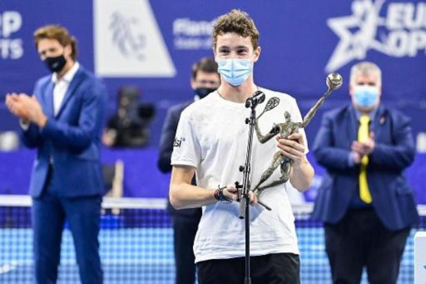 """European Open - Ugo Humbert heeft tweede ATP-titel beet: """"Ik ben echt fier op mezelf"""""""