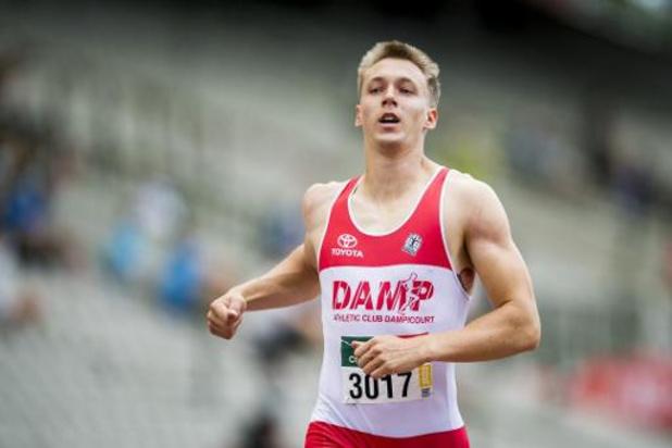 Julien Watrin wordt 5e op 200m, gewonnen door Desalu
