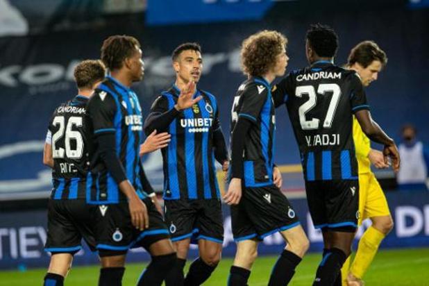 Croky Cup - Club Brugge houdt schietoefening tegen Olsa Brakel