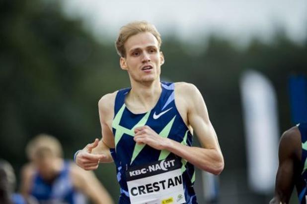 Nacht van de Atletiek - Eliott Crestan stelt persoonlijk record op 800m bij, Rani Rosius wint 100m