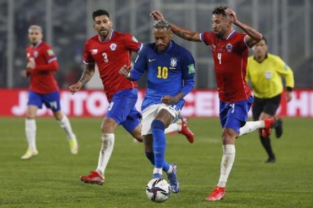 Qualifications Mondial 2022 - Le Brésil vient à bout du Chili, l'Argentine écarte le Vénézuela