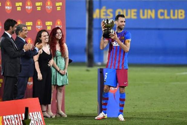 Belgen in het buitenland - Barcelona verslaat Juventus in eerste wedstrijd na vertrek Messi