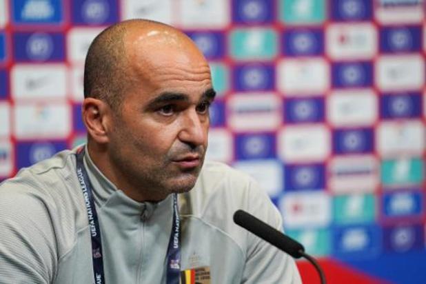 Rode Duivels - Martinez geeft vrijdag selectie vrij voor beslissend tweeluik in Nations League