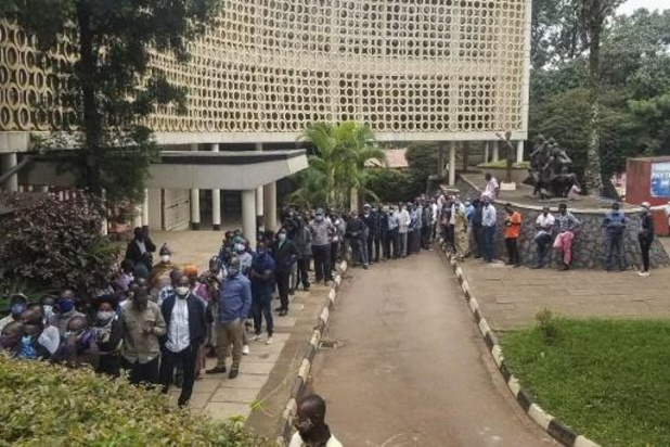 Verkiezingen Oeganda - Tellen van de stemmen gestart