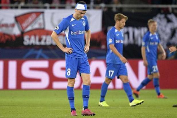 Ligue des Champions - Genk submergé de buts par Salzbourg pour son entrée en lice