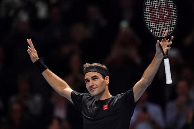 Masters ATP - Federer se hisse en demi-finale au détriment de Djokovic, Nadal finira l'année N.1 mondial