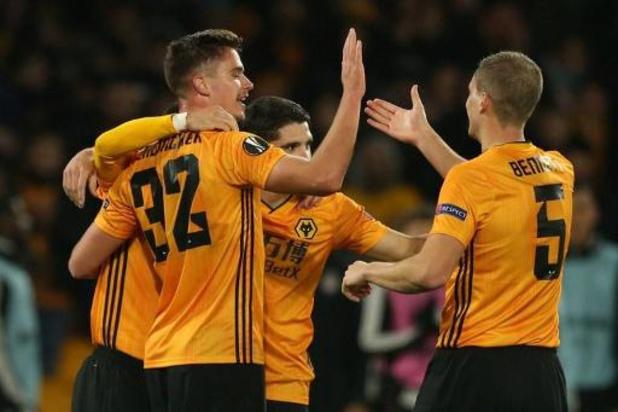 Europa League - Dendoncker prend une large option avec les Wolves, court succès pour Casteels et Wolfsburg
