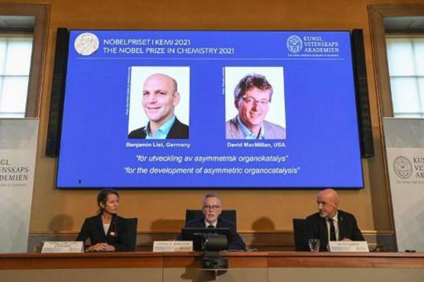 Benjamin List en David MacMillan winnen Nobelprijs voor Chemie