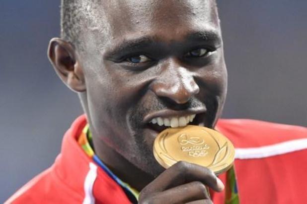 David Rudisha, double champion olympique, a été opéré d'une fracture de la cheville