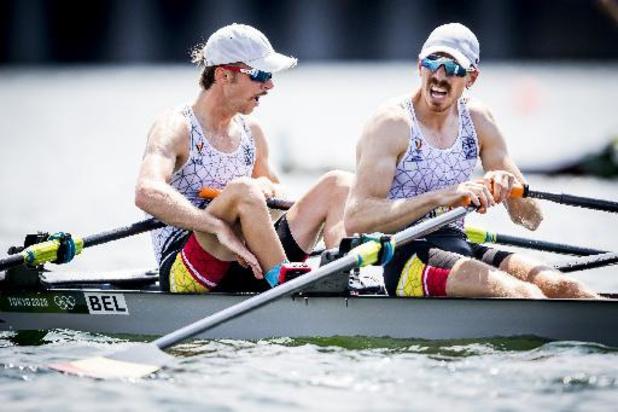 """OS 2020 - Brys en Van Zandweghe worden vijfde in finale: """"Niet op onze waarde geklopt"""""""