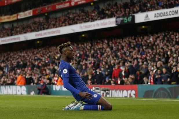 Chelsea wint in extremis van Arsenal in Londense derby