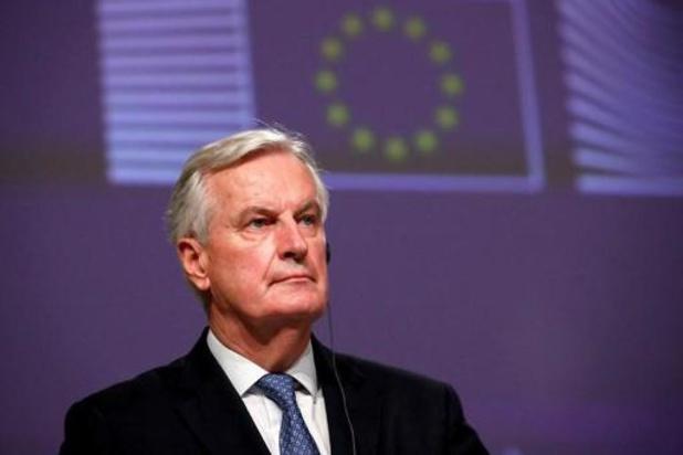 Stroom voor vis, suggereert Barnier