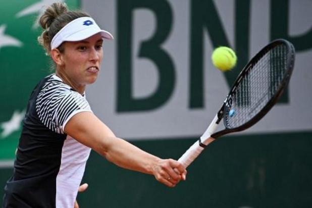 Elise Mertens se hisse au 3e tour de Roland-Garros après sa victoire sur Kanepi