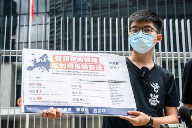 Hongkongse protestleider Joshua Wong stapt uit partij
