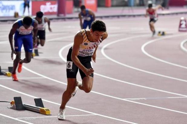 """Mondiaux d'athlétisme - Jacques Borlée: """"C'est une bonne demi-finale pour Jonathan Sacoor"""""""