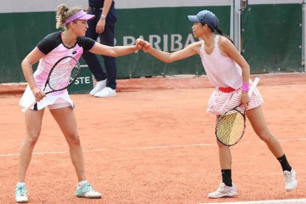Roland Garros: Mertens en Hsieh hebben weinig moeite met Franse wildcards