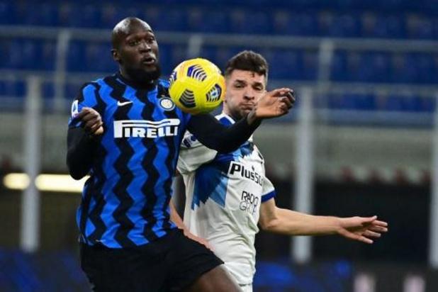 Belgen in het buitenland - Inter verstevigt leidersplaats met driepunter tegen Atalanta
