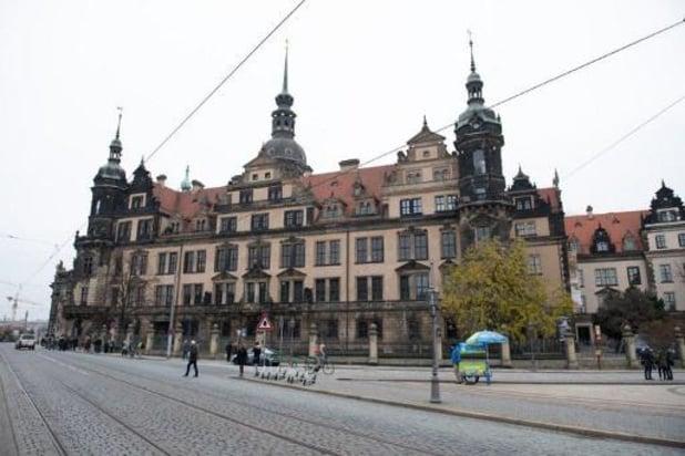 Quatre auteurs impliqués dans le vol dans un musée de Dresde