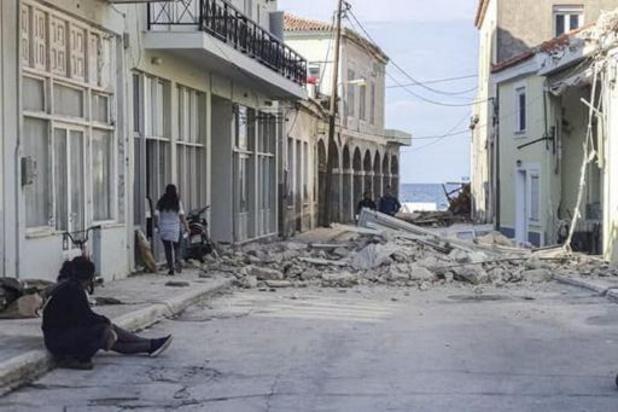 Aardbeving bij Griekse eiland Samos - Dodentol loopt op tot 24, naschokken in Turkije