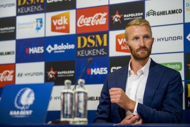 Wim De Decker krijgt zijn kans als T1 bij AA Gent