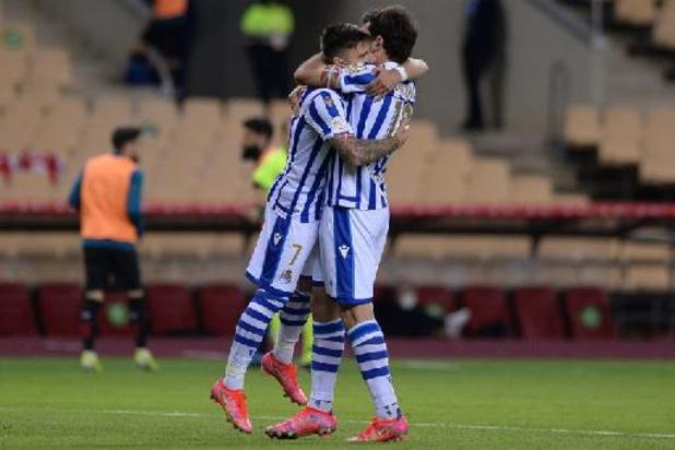 Copa del Rey - Januzaj ziet ploegmaats van Real Sociedad uitgestelde finale Copa del Rey winnen