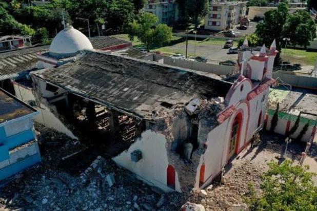 Puerto Rico kondigt noodtoestand af na krachtige aardbeving