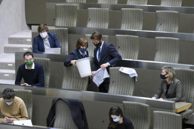 Zwijgakkoord legt Vlaams Parlement aan banden