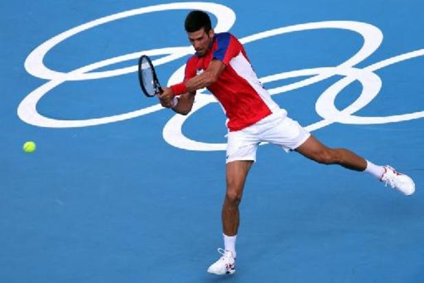 Souverain, Novak Djokovic est toujours en lice pour son Grand Chelem doré