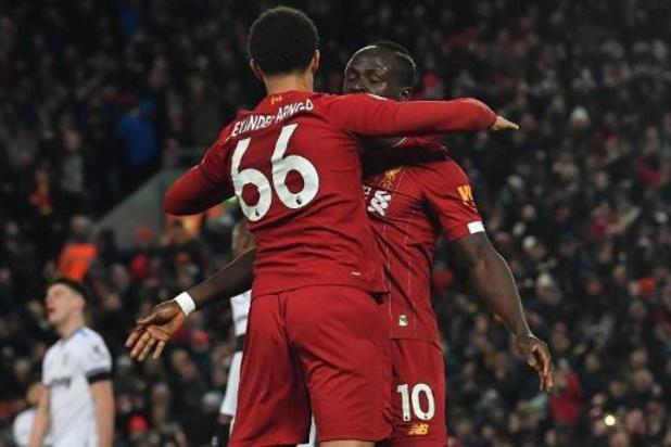 Belgen in het buitenland - Liverpool, met Origi op de bank, vermijdt nederlaag tegen West Ham
