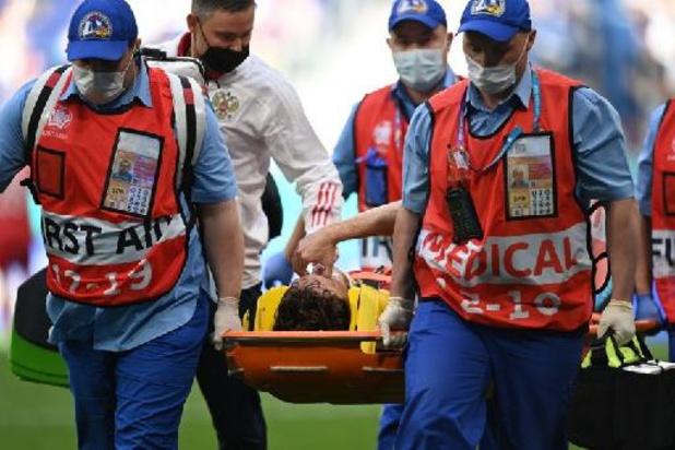 Le Russe Fernandes à l'hôpital, touché à la colonne vertébrale