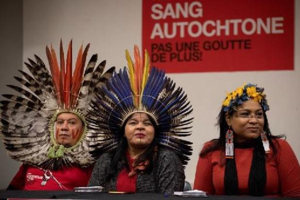 Brésil: une plainte pour diffamation contre une activiste indigène classée sans suite