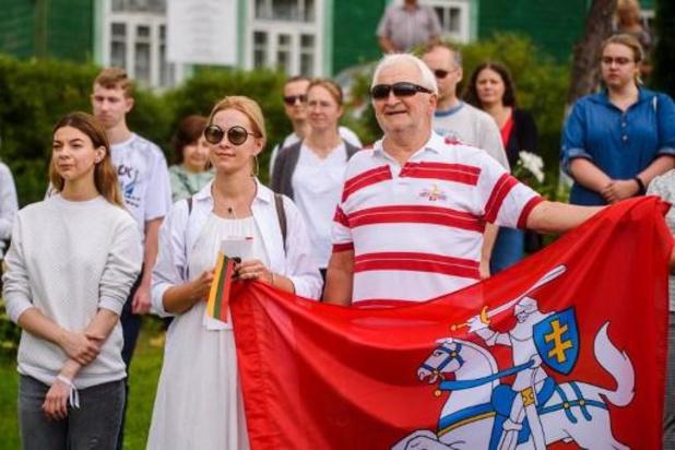 Présidentielle au Bélarus - Dans les pays baltes, une chaîne humaine de solidarité avec le Bélarus