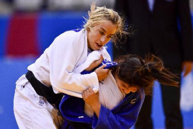 Charline Van Snick annonce son retour sur les tatamis à Kazan mercredi prochain