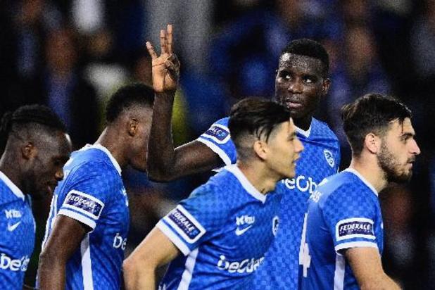 Jupiler Pro League - Genk dankt hattrickheld Onuachu tegen Seraing, Mechelen verrast Charleroi in eigen huis