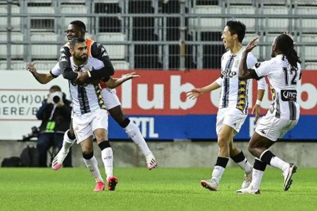 Europa League - Charleroi knokt zich voorbij Partizan Belgrado naar play-offs