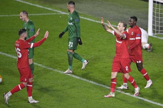 L'Antwerp bat Ludogorets et passera l'hiver européen