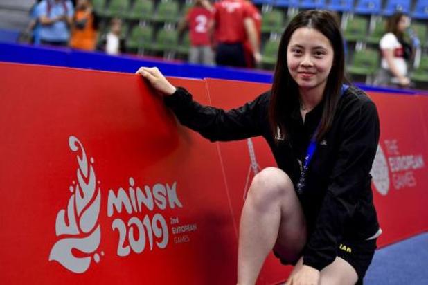Championnats de Belgique de tennis de table - Cédric Nuytinck et Lisa Lung couronnés en simple à Spa