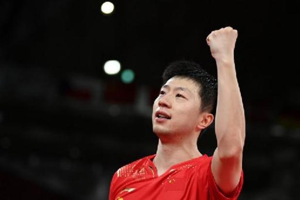 Tennis de table JO : carton plein pour la Chine qui truste les deux finales en simple