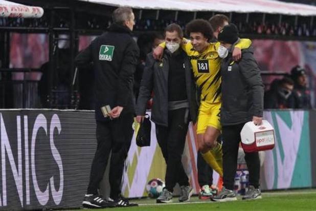 Belgen in het buitenland - Witsel valt uit met enkelblessure in topper tegen RB Leipzig
