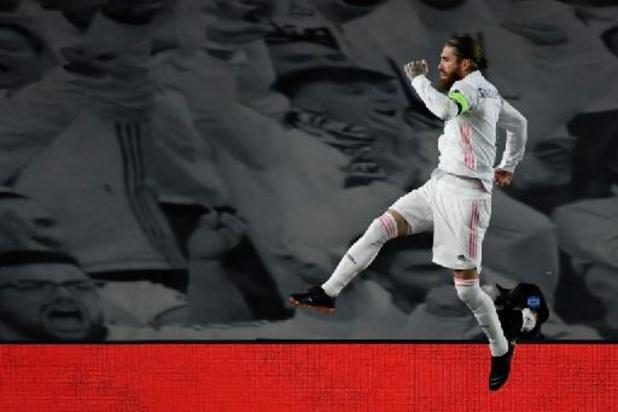Sergio Ramos valt opnieuw uit en mist tweeluik met Liverpool