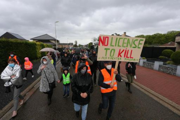 Ongeveer 150 deelnemers aan mars voor Jürgen Conings