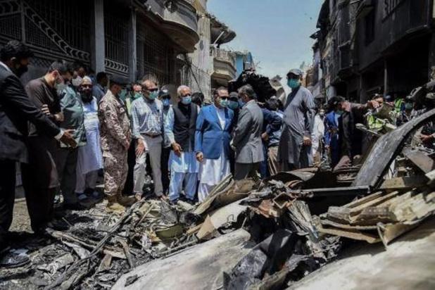 Zwarte doos gevonden na vliegtuigcrash in Pakistan