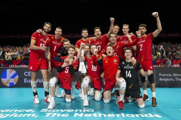 Euro de volley (m) - Brecht Van Kerckhove content que ses Red Dragons aient épargné leur énergie