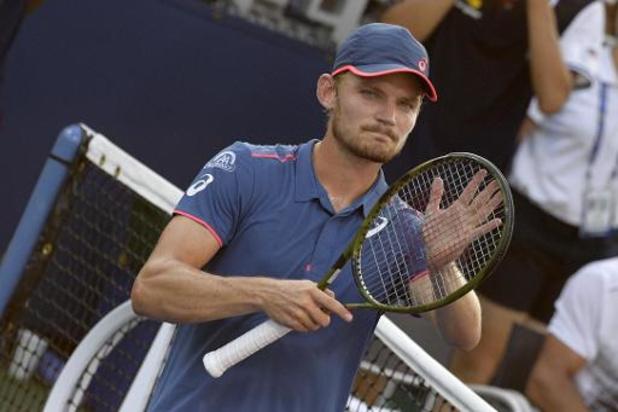 David Goffin mag zich opmaken voor halve finale tegen Novak Djokovic