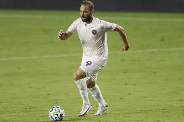 Gonzalo Higuain (Miami) positif au Covid-19