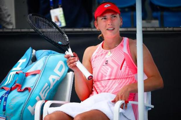 """Mertens sur la quarantaine : """"2h de tennis par jour, ce n'est pas énorme pour moi"""""""