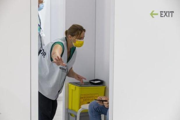 Antwerpen opent vaccinatiepunten voor mensen die toch nog een vaccin willen