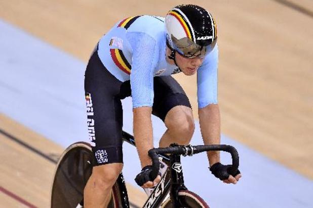 Euro de cyclisme sur piste espoirs et juniors - Fabio Van Den Bossche en argent à l'Omnium chez les Espoirs à Apeldoorn