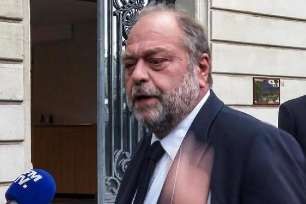 Franse minister van Justitie Dupond-Moretti in verdenking ivm belangenvermenging